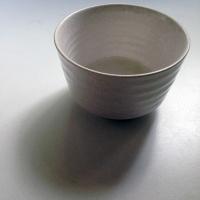 kleine Matchaschale Creme-Weiß