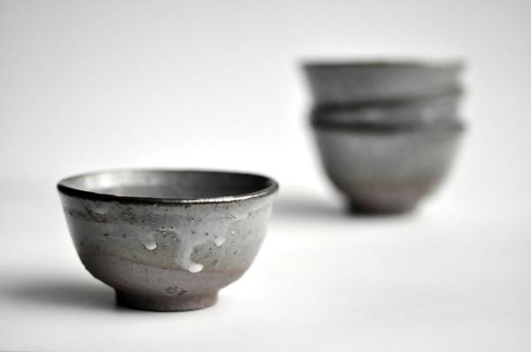 Teeschale Kawakujira-Karatsu 140ml von Mike Martino Nr.MM54