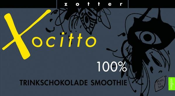 Zotter Trinkschokolade Xocitto 100% Schoko-Espresso, vegan
