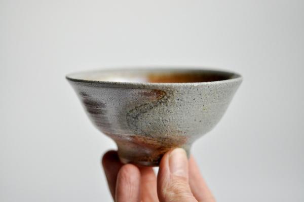 Teeschale Holzbrand 170ml von Jaroslav Marek
