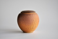 Keramikbehälter 335ml Holzbrand von Hanka Vrbicova