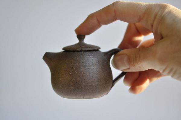 Teekanne 65ml Holzbrand Jiri Duchek Nr.JD28