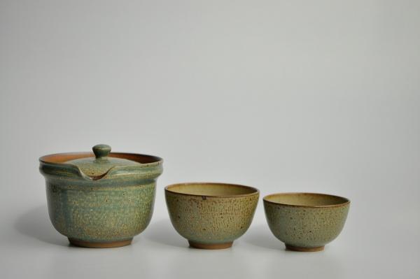 Shiboridashi & 2 Cups SET 270ml hellblau von Ales Dancak