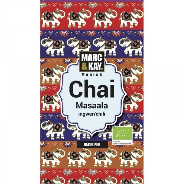 Bio Chai Masala, Ingwer-Chili, Tassenportion von Marc & Kay