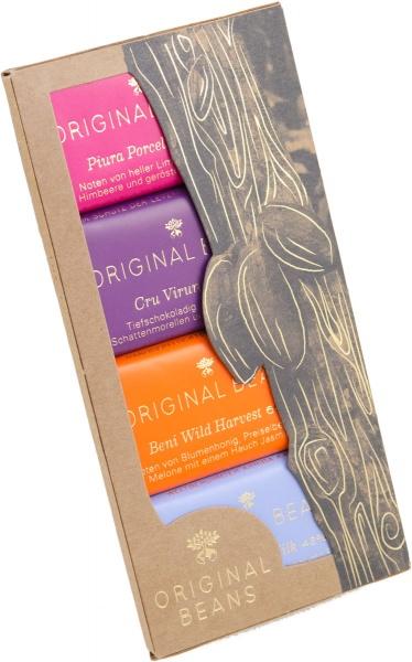 Original Beans, Minitafel 4er Geschenkbox
