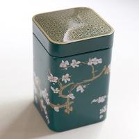 Teedose Kirschblüte, Zederngrün