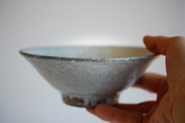 Teeschale Holzbrand grau 330ml von Martin Hanus
