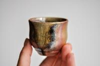 Becher 85ml Holzbrand Tulpenform von James Xie