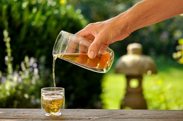 Tee Set Siena 300ml mit 2 Gläsern