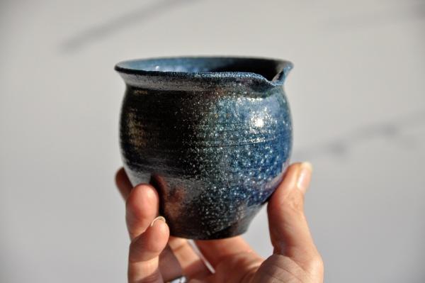 Ausschankkanne Kobalt 270ml von Jan Pavek, Pitcher, Cha Hai, Abkühlgefäß