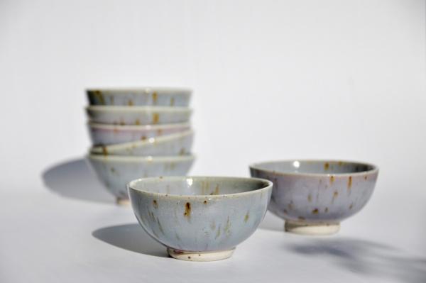 Große Teeschale 300ml lavendel Narieda