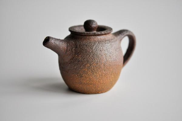 Teekanne 230ml Holzbrand Rost von Martin Koller