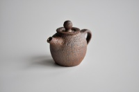 Teekanne 90ml Holzbrand Rost von Martin Koller