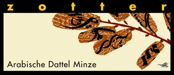Zotter Arabische Dattel Minze