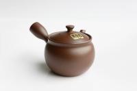 Teekanne Banko runde Kyusu 270ml Aubergine