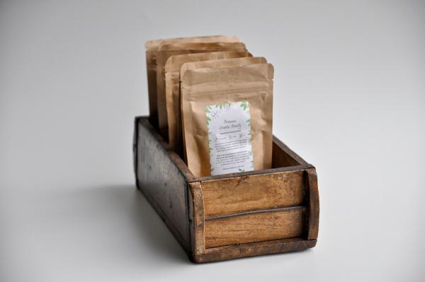 Aufbewahrung aus Holz 15x30cm - recycelt