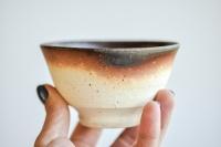 Teeschale 225ml Holzbrand von Erich Hovancik