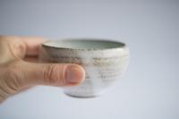 Teeschale 180ml grau/türkis von Michiko Shida