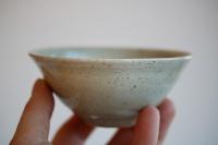 Teeschale 160ml sandgrau glasiert von Jiri Duchek