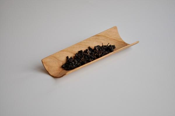 Teeschütte, Teeschaufel, Teeschiffchen 18,5cm von Vlastimil Hanus