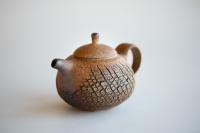 Teekanne Baumrindenoptik 190ml Holzbrand von Jiri Duchek