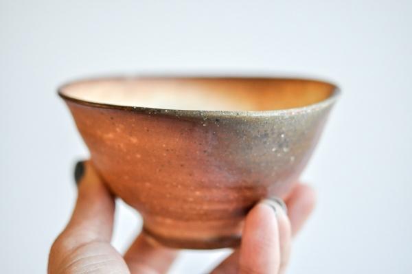 Teeschale 270ml Holzbrand von Erich Hovancik