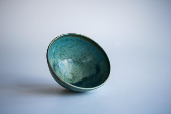 Teeschale Korallenblau 210ml von Berthold Neumann