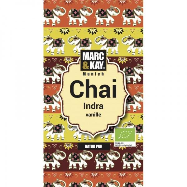 Bio Chai Indra, Vanille, Tassenportion von Marc & Kay