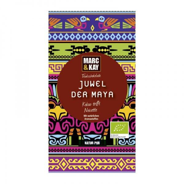 Bio Trinkschokolade Juwel der Maya, Tassenportion von Marc & Kay