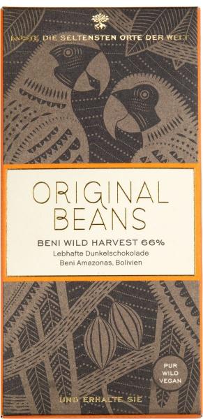 Original Beans, Beni Wild Harvest 66%