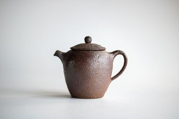 Teekanne Holzbrand 170ml von Martin Hanus