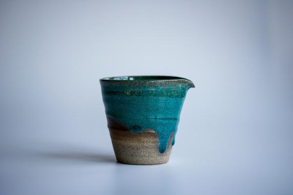 Ausschankkanne dunkelgrün 190ml von Michiko Shida, Abkühlgefäß, Pitcher, Cha Hai