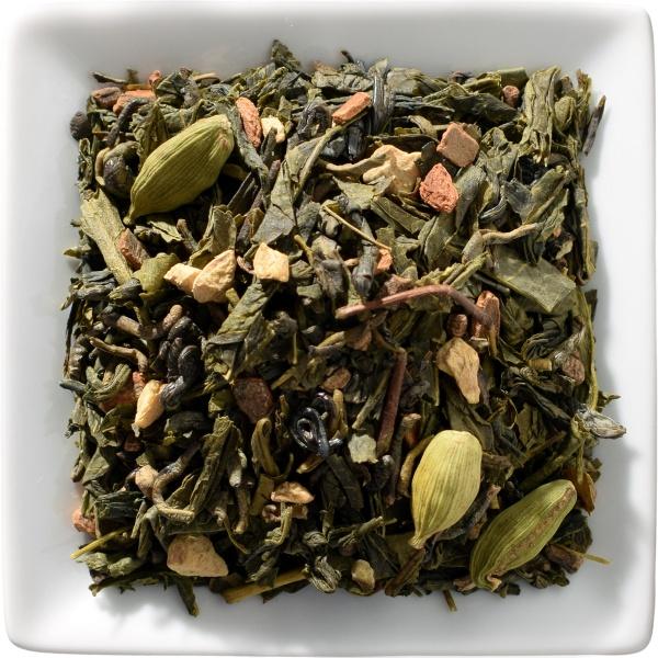 Grüner Chai Tee
