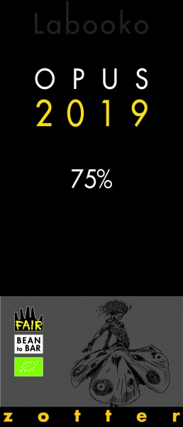 Zotter Labooko 75% Opus 2019, vegan