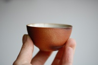 Teeschale/Cup Holzbrand 55ml von Hanka Vrbicova