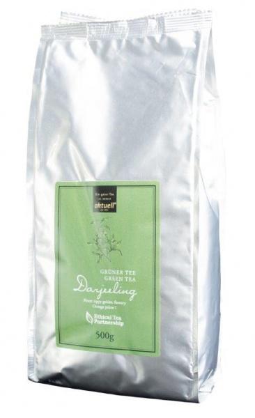Aktuell, Grüner Tee 500g, Darjeeling