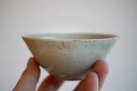 Teeschale 150ml sandgrau glasiert von Jiri Duchek