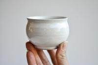 Teeschale rund 150ml weiß von Michiko Shida