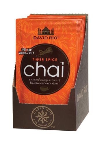 Tiger Spice Chai, Tassenportion von David Rio