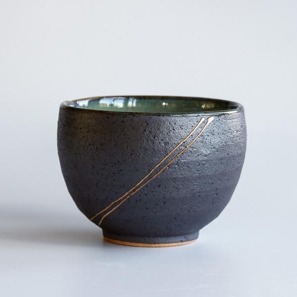 Japanische Teeschale SAKI braun 350ml