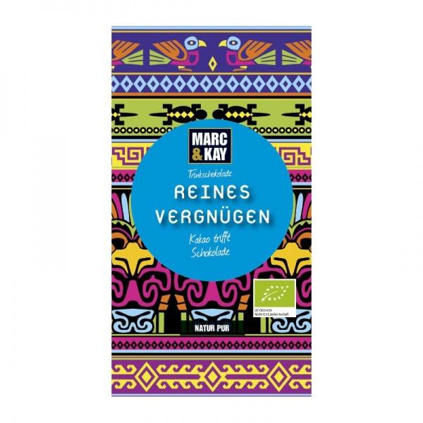 Bio Trinkschokolade Reines Vergnügen, Tassenportion von Marc & Kay