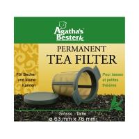Teefilter Edelstahl mikrofeiner Filter, groß