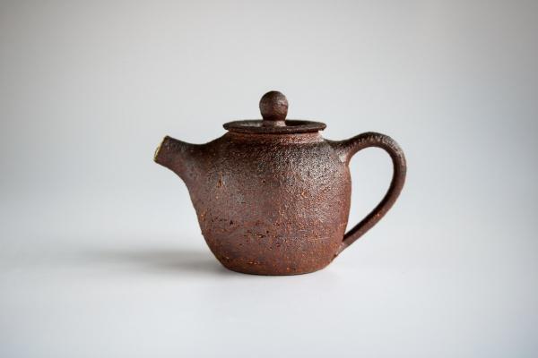 Teekanne 135ml Holzbrand von Martin Koller