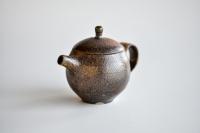 Teekanne 130ml Holzbrand von Jiri Duchek