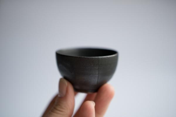 Cup 55ml anthrazit/schwarz von Michiko Shida