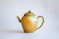 Yixing Duanni Teekanne 200ml Holzbrand von Mengmeng Wei