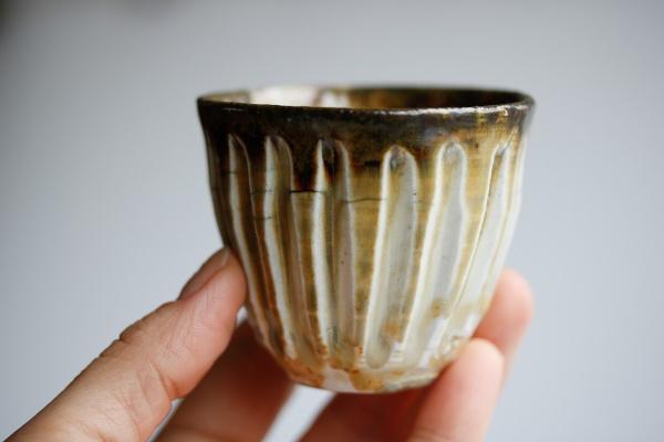 Yunomi/Cup 105ml Shinogi aus Izumiyama-Porzellan von Mike Martino
