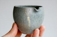 Yuzamashi/Abkühlschale 160ml steingrau von Jan Pavek