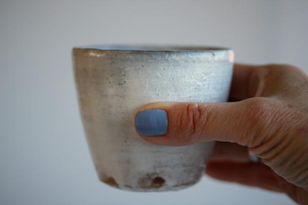 Teebecher Holzbrand weiß 260ml von Martin Hanus