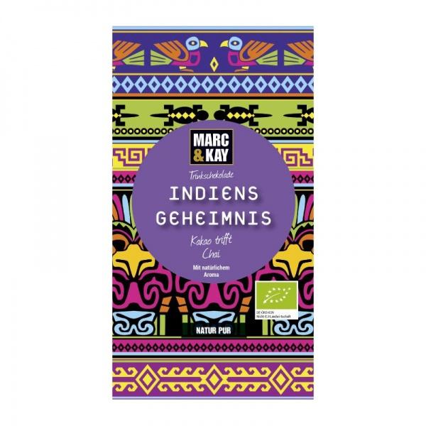 Bio Trinkschokolade Indiens Geheimnis,Tassenportion von Marc & Kay